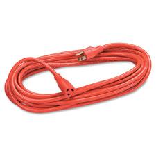 Fellowes Orange Indoor/Outdoor Extension Cord