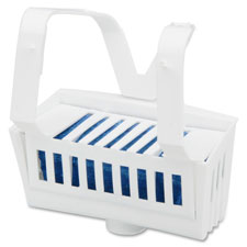 Toilet bowl rim hanger,non-para block,1.5 oz.,12/bx,scented, sold as 1 box