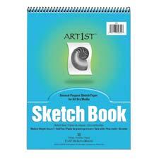 Pacon Medium Weight Acid Free Sketch Books