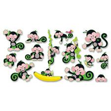 Trend Monkey Mischief Bulletin Board Set