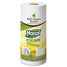 Marcal Small Steps 2-ply Quilted Roll Towels