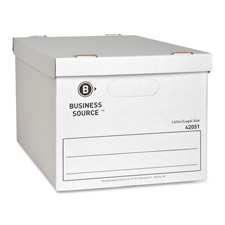 Bus. Source Storage Box w/ Lid