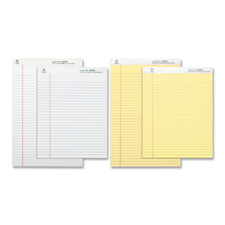 Bus. Source Micro-Perforated Legal Ruled Pads