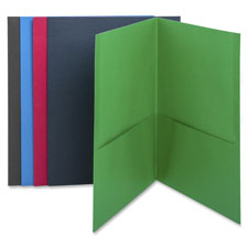 Bus. Source Two-Pocket Folders
