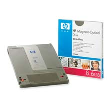 HP Write-Once Magento-Optical Disk