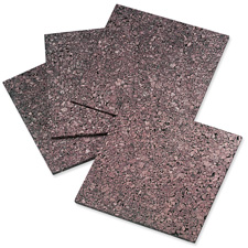 """Cork panels, extra thick, 12""""x12"""", 4/pk, dark natural, sold as 1 package"""