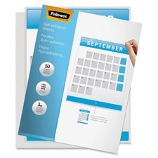 Fellowes Self-Adhesive Laminating Sheets