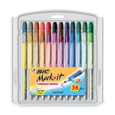 Bic Mark-it Permanent Markers