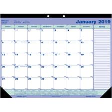 Rediform 1PPM Desk/Wall Calendar Pad