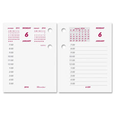 Rediform Daily Desk Calendar Refill for C1S