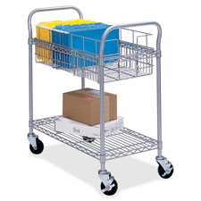 Safco Wire Mail Carts