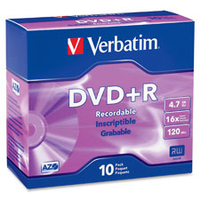 Verbatim Branded DVD+R