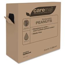 Caremail Biodegradable Peanuts w/Dispenser Box