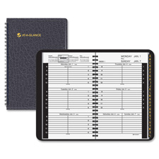 At-A-Glance 2PPW Tabbed Weekly Appointment Books