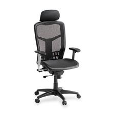 "High back chair, mesh, 28-1/2""x28-1/2""x51"", black, sold as 1 each"