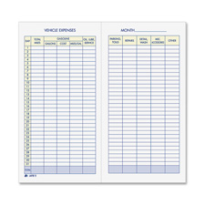 Adams Vehicle Expense Journal
