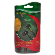 Compucessory 3 Cushion Ear Size Earbuds