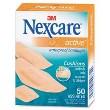 3M Nexcare Extra Cushion Active Bandages