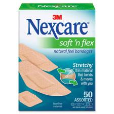 3M Nexcare Comfort Fabric Bandages
