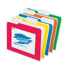 Esselte Doodle and Erase File Folders
