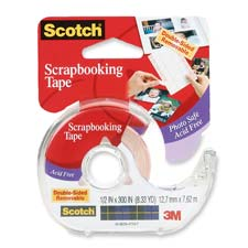 3M Double-sided Scrapbook Tape w/Dispenser