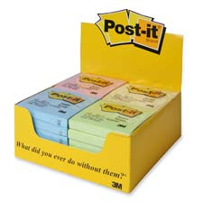 3M Post-it Repositionable Adhesive Notes