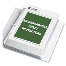 C-Line Biodegradable Sheet Protectors