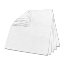 "Oil absorb pads, 17""x19"", 100/ct, white, sold as 1 carton, 1000 each per carton"