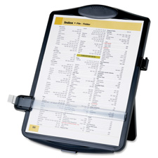 "Easel document holders, adjustable, 10""x2""x14"", black, sold as 1 each, 500 each per each"