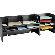 MMF Industries Raised Shelf Design Desk Organizer