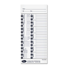 Lathem Universal Time Cards