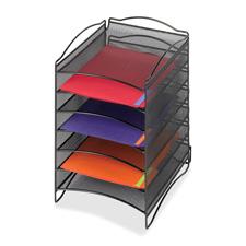 Safco 6-Compartment Mesh Desktop Organizer