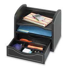 Safco Desk Organizer w/ Drawer