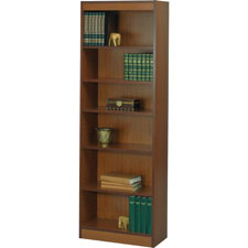 Safco Workspace 6-Shelf Cherry Bookcases