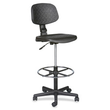 "Trax stool, adjustable, 18-1/2""x18-1/2""x37-47"", black, sold as 1 each, 4 each per each"