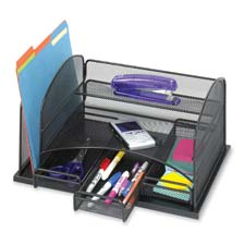 Safco 3-Drawer Desktop Organizer