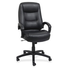 Lorell Westlake Series Executive High-back Chairs