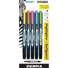 Zebra Eco Zebrite Double-ended Highlighter
