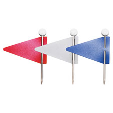 Gem Office Products Map flags