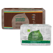 Seventh Gen. Recycled One-Ply White Napkins
