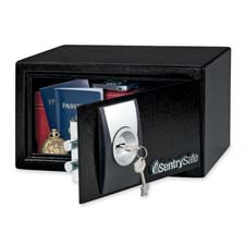 Sentry .3 cu ft Security Safe w/6 lever Key Lock