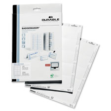 Durable Click-Fold Convex Badge Insert Cards