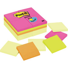 3M Post-it Mixed Pack Original Note Pads