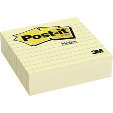 3M Post-it Notes 2 Pak Lined Pads