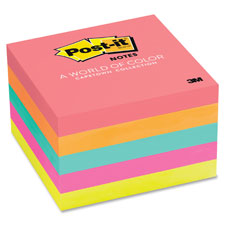 3M Post-it Notes Assorted Neon Pads