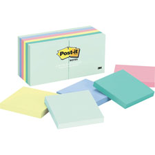 3M Post-it Notes Pastel Original Pads