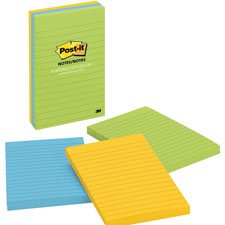 3M Post-it Notes Ultra Assorted Lined Pads