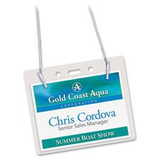 Avery Landscape Photo ID System Badge Holders