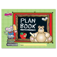 Plan/record book,42 weeks of planning pages,96 pages, sold as 1 each