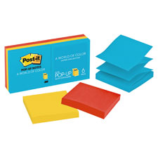 3M Post-it Ultra Colors Pop-up Refill Notes
